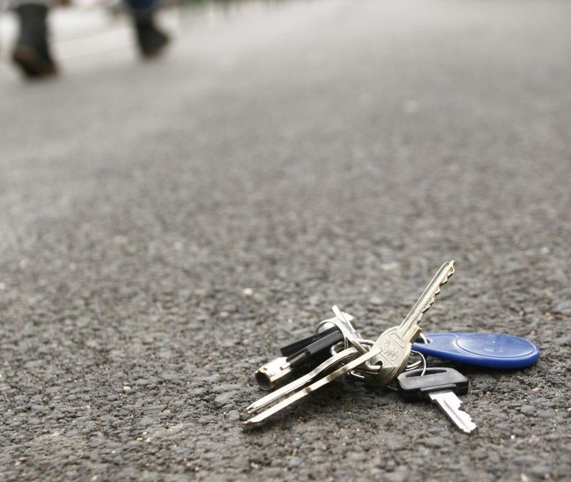 Losing keys